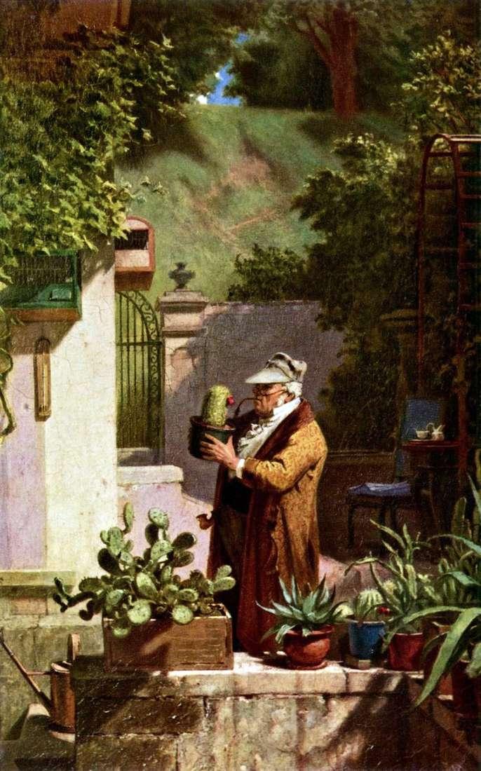 Любитель кактусов   Карл Шпицвег