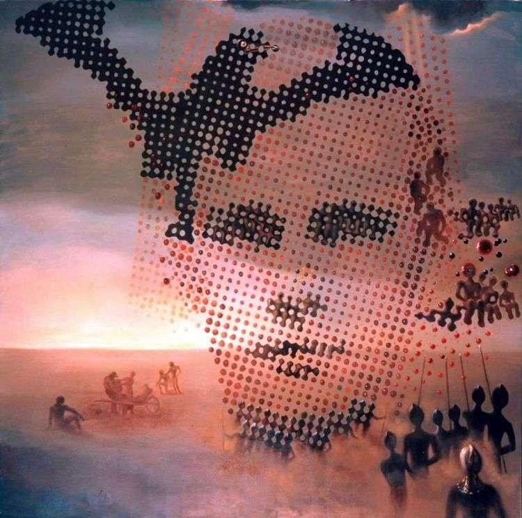 Портрет моего умершего брата   Сальвадор Дали