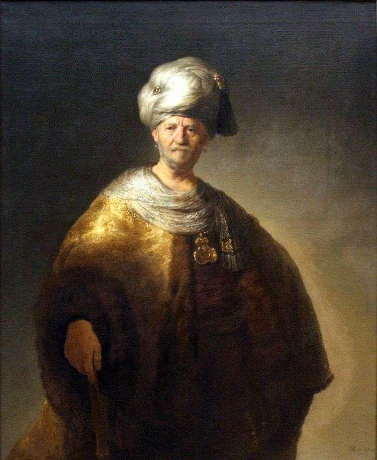 Знатный славянин   Рембрандт Харменс Ван Рейн