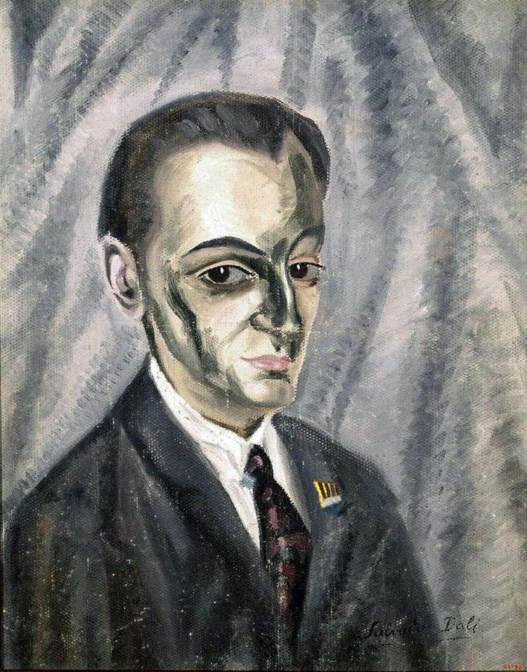 Портрет Хосе Торреса   Сальвадор Дали