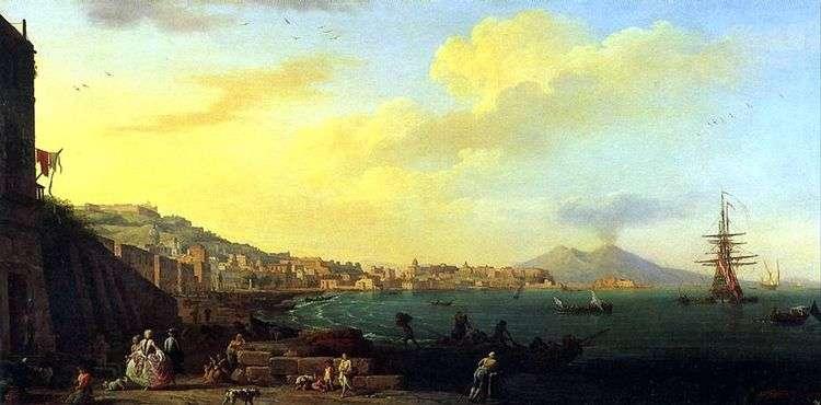 Вид Неаполя с Везувием   Клод Верне