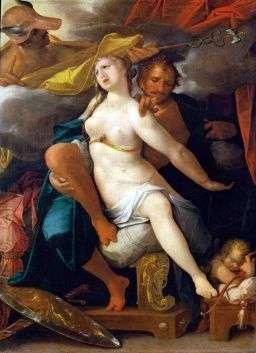 Меркурий, Венера и Марс   Бартоломеус Шпрангер