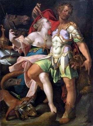 Одиссей и Кирка   Бартоломеус Шпрангер