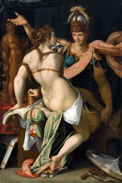 Цирцея и Одиссей   Бартоломеус Шпрангер