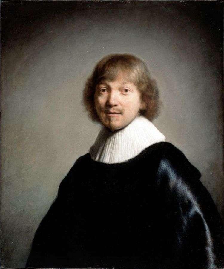 Портрет Жака де Гейна III   Рембрандт Харменс Ван Рейн