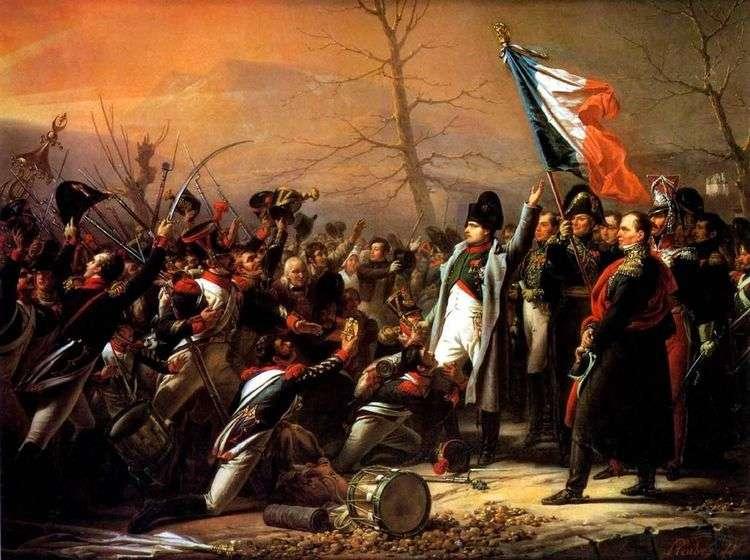 Возвращение Наполеона с острова Эльба   Василий Иванович Штернберг