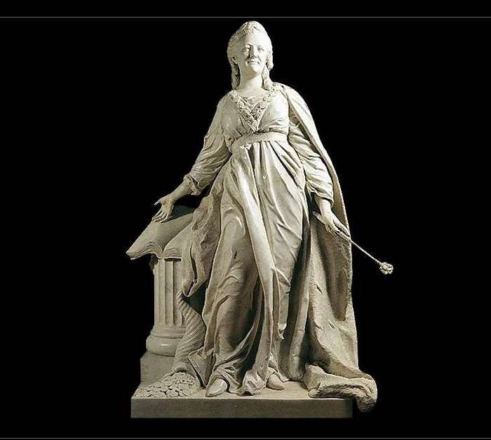 Екатерина II   законодательница   Федот Шубин