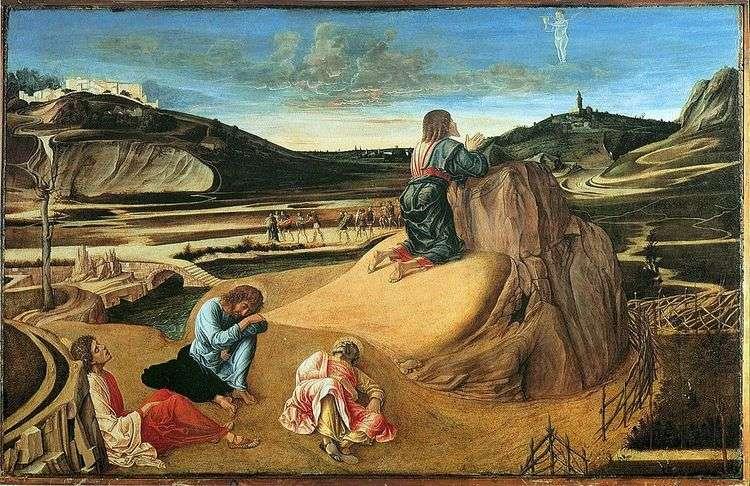 Моление о чаше или Агония в саду   Джованни Беллини
