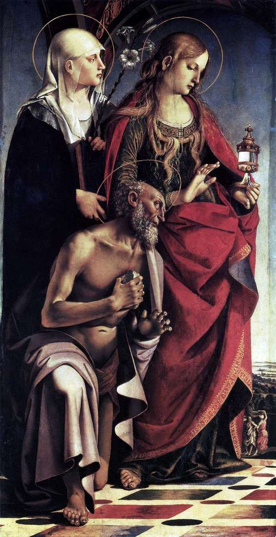 Алтарь св. Августина   Лука Синьорелли