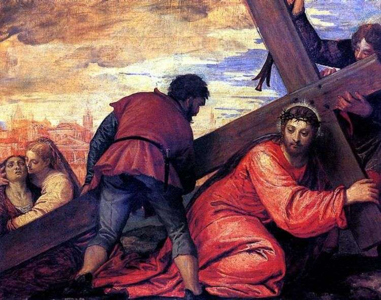 Несение креста   Паоло Веронезе