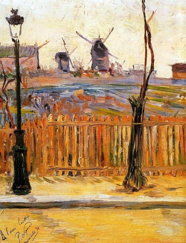 Мельницы на Монмартре   Поль Синьяк