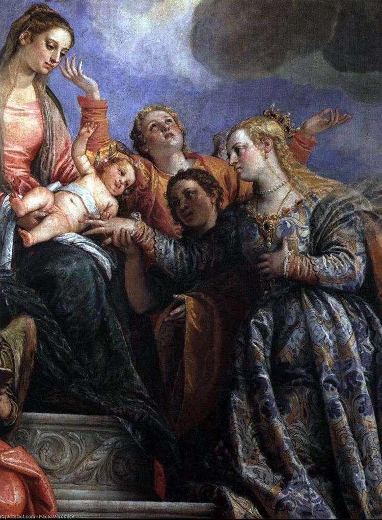 Обручение святой Екатерины   Паоло Веронезе