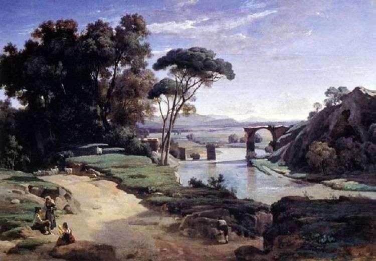 Мост в Нарни   Камиль Коро