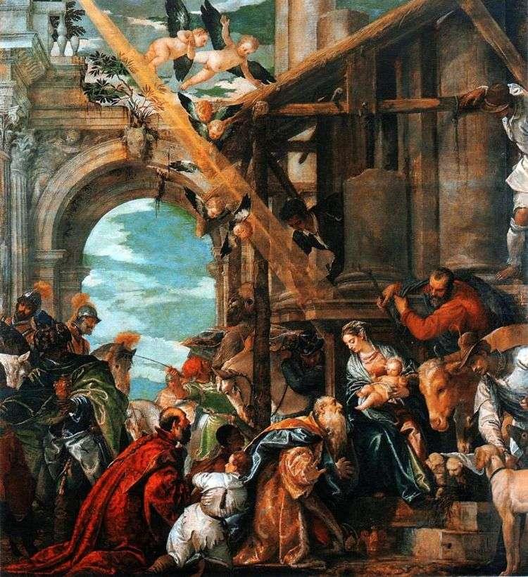Поклонение волхвов   Паоло Веронезе