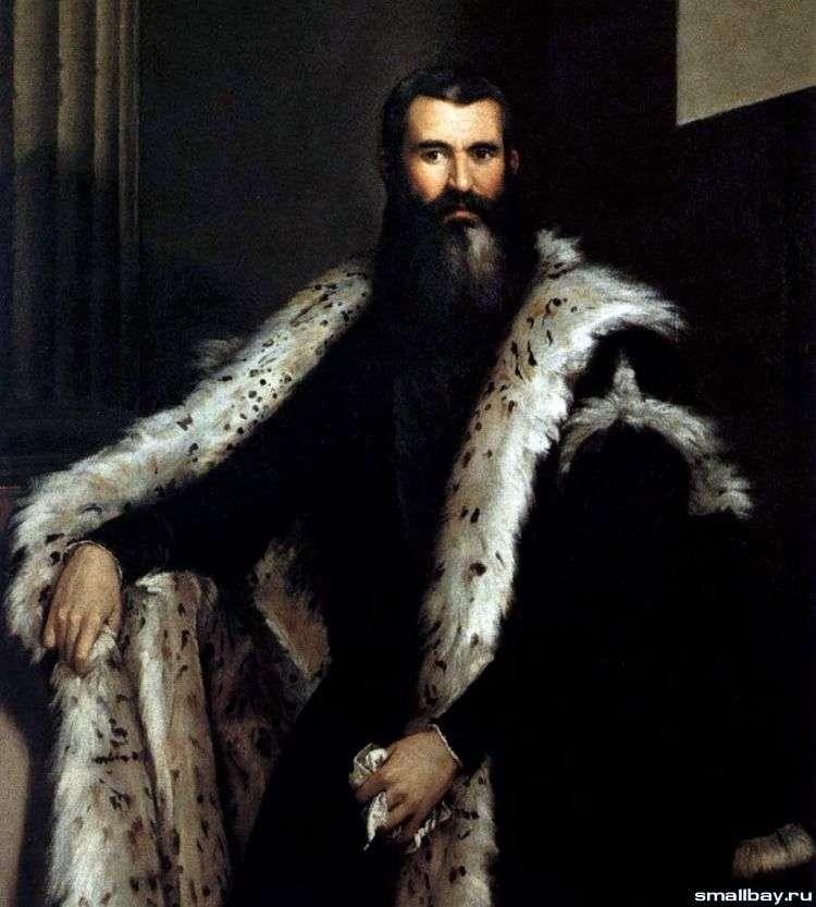 Портрет Даниеле Барбаро   Паоло Веронезе
