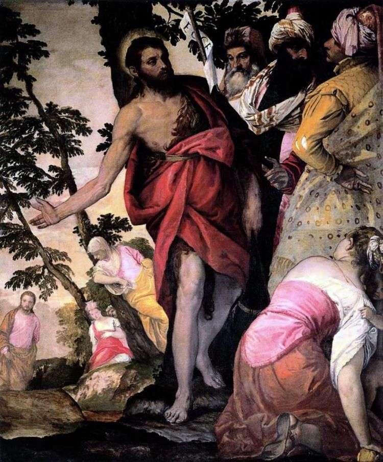 Проповедь Иоанна Крестителя   Паоло Веронезе
