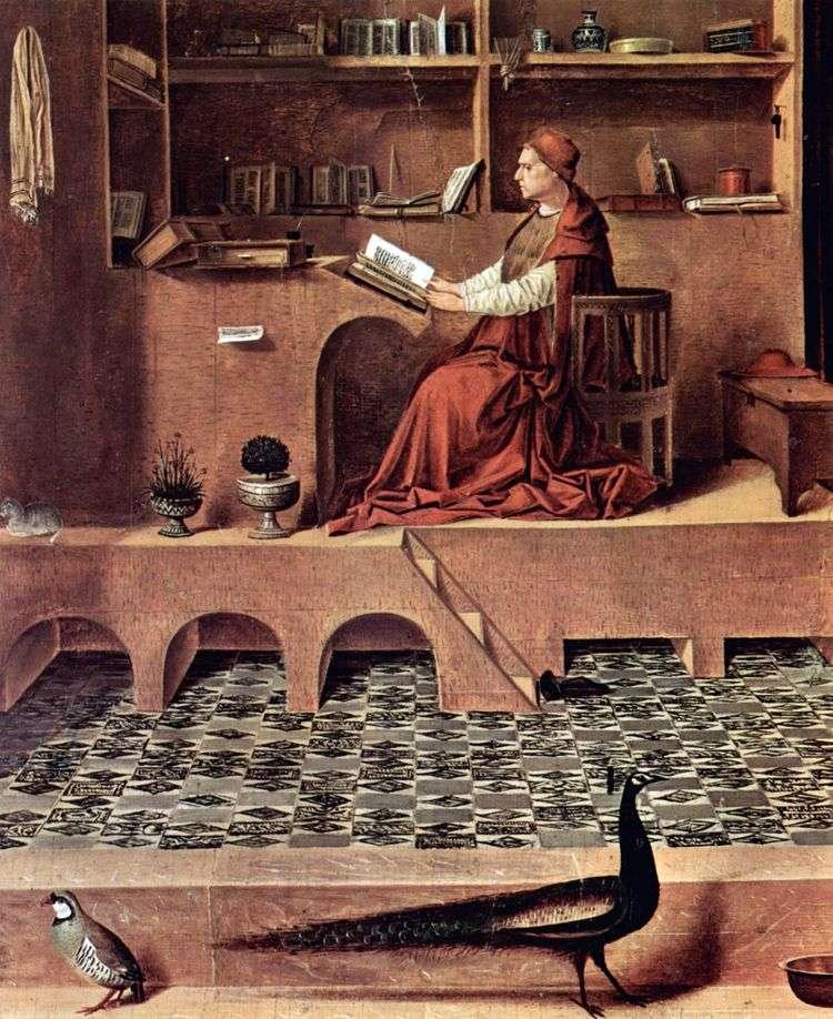 Святой Иероним в келье   Антонелло да Мессина