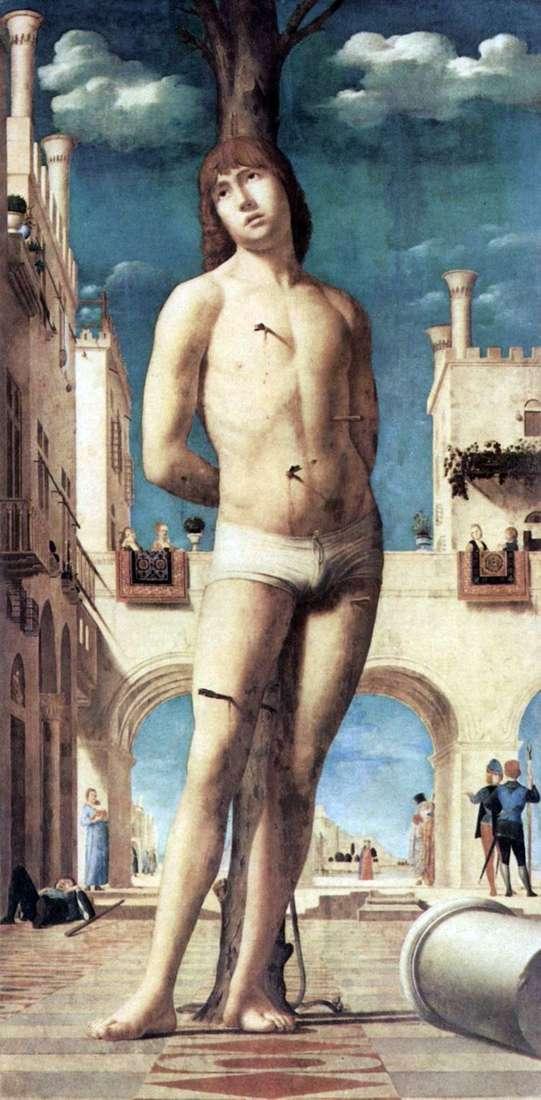 Святой Себастьян   Антонелло да Мессина