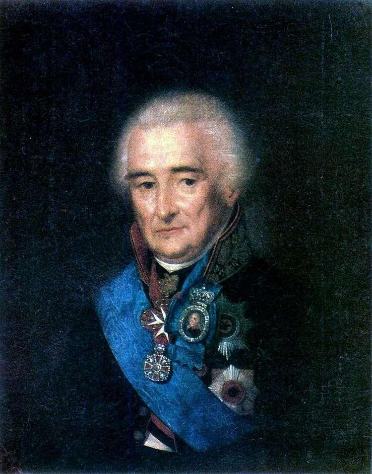 Портрет П. В. Лопухина   Степан Щукин