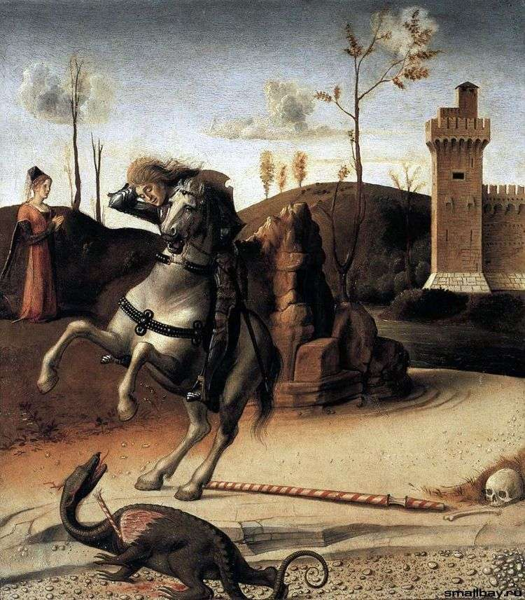 Святой Георгий и дракон   Джованни Беллини