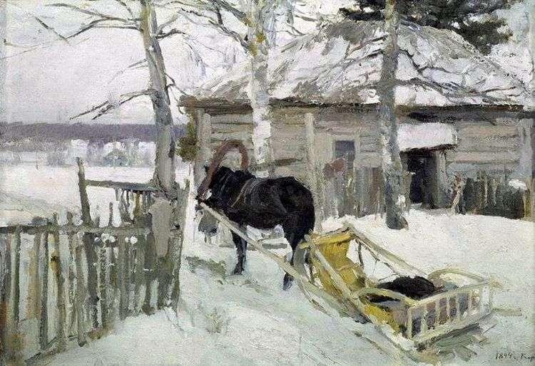 Зимой   Константин Коровин
