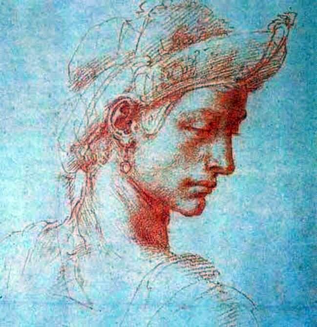 Идеальная голова   Микеланджело Буонарроти