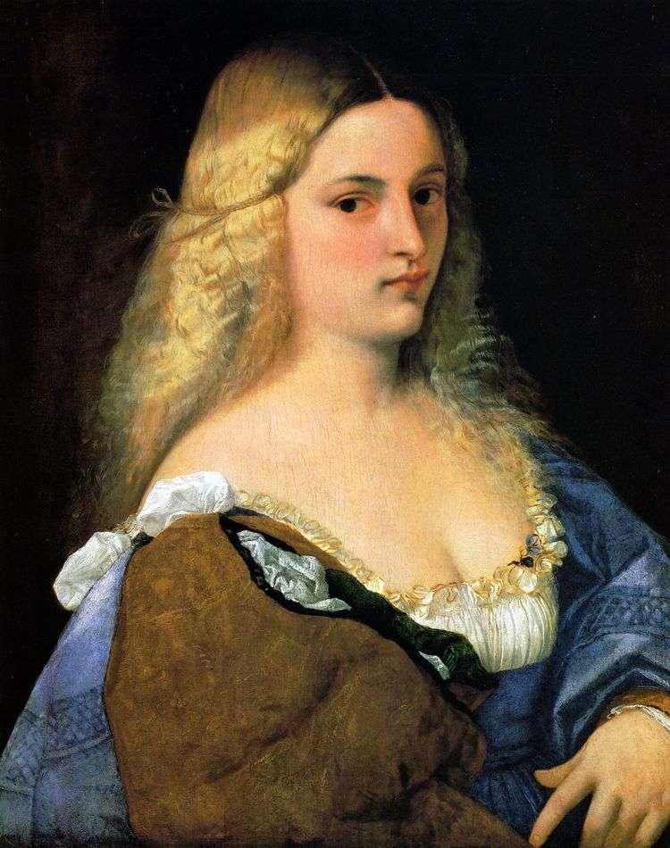 Виоланта   Тициан Вечеллио