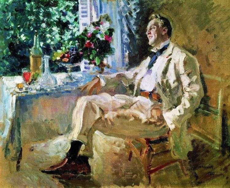 Портрет Шаляпина   Константин Коровин