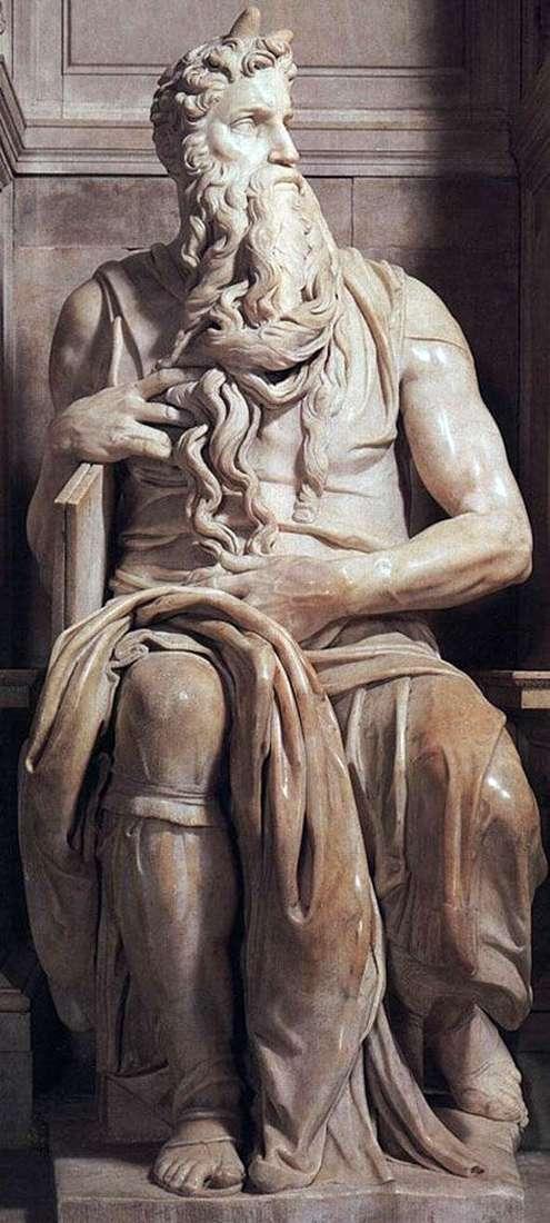 Моисей (скульптура)   Микеланджело Буонарроти