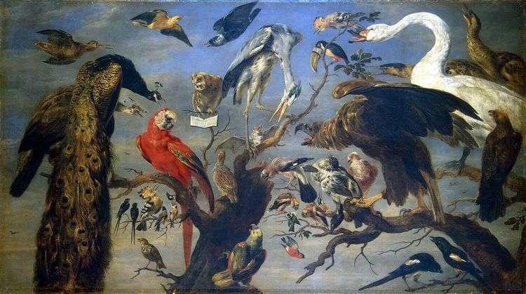 Птичий концерт   Франс Снейдерс