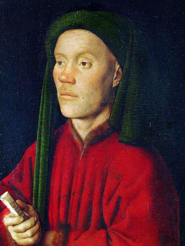 Портрет молодого человека (Тимофей)   Ян ван Эйк
