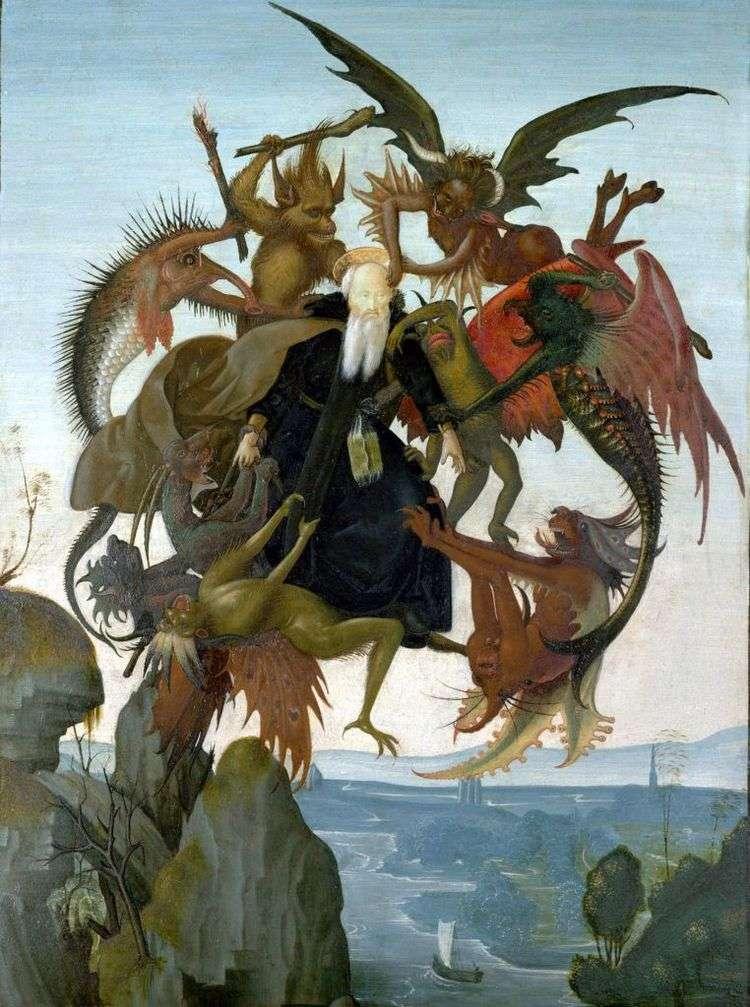 Мучения святого Антония   Микеланджело