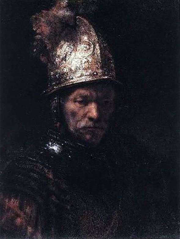 Человек в золотом шлеме   Рембрандт Харменс Ван Рейн
