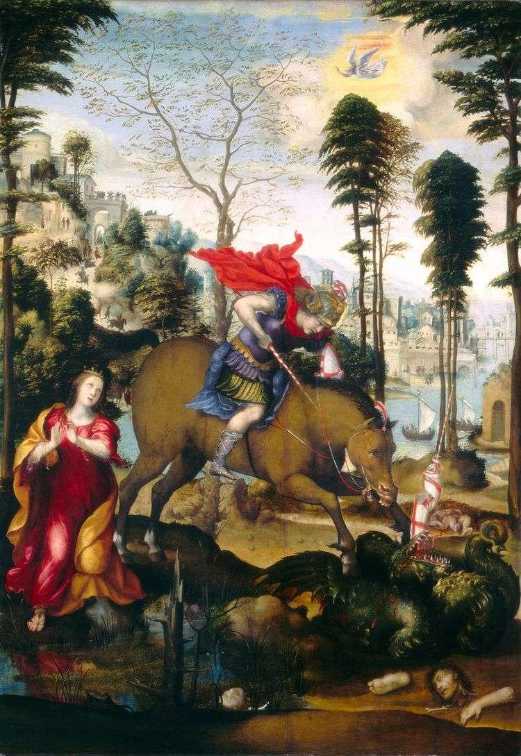 Святой Георгий и дракон   Содома