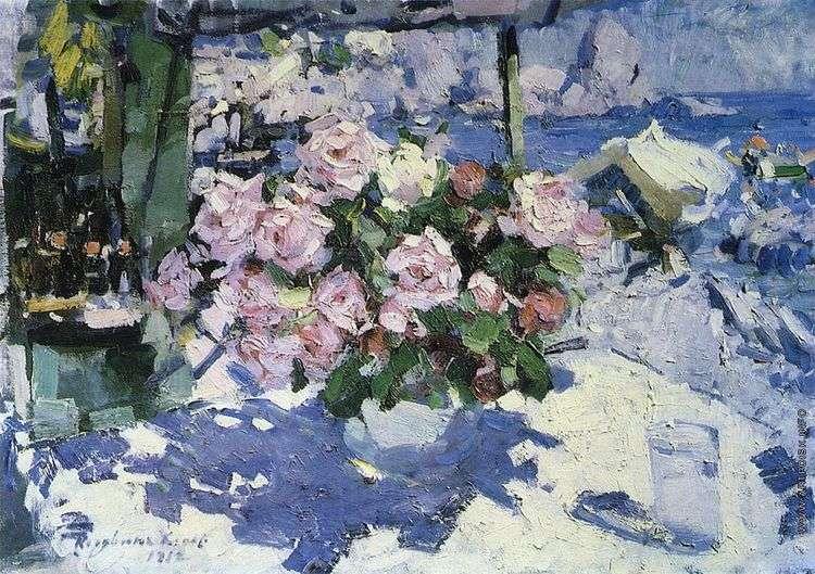 Розы   Константин Коровин