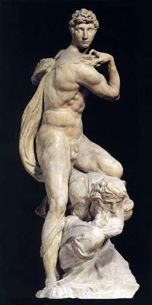Победа (скульптура)   Микеланджело Буонарроти
