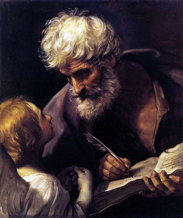 Апостол Матфей и ангел   Гвидо Рени