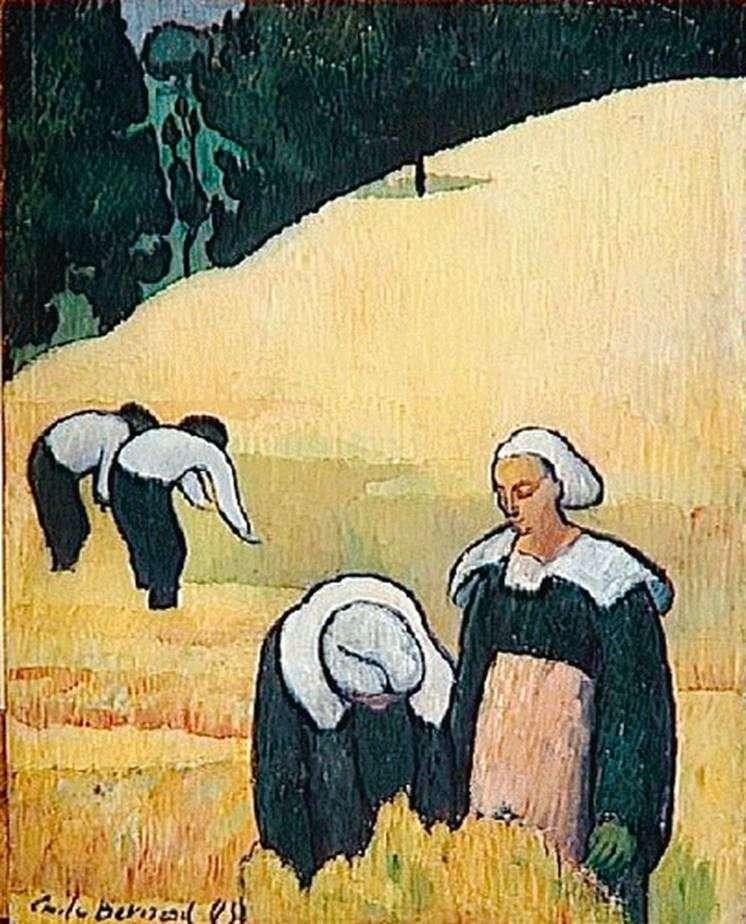 Бретонский пейзаж   Эмиль Бернар