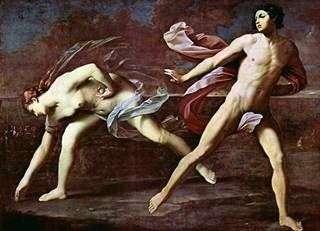 Аталанта и Гиппоменей   Гвидо Рени