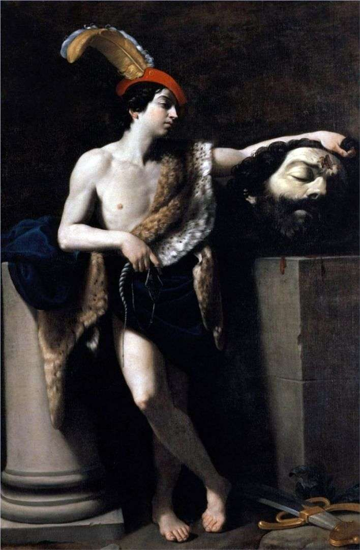 Давид с головой Голиафа   Гвидо Рени