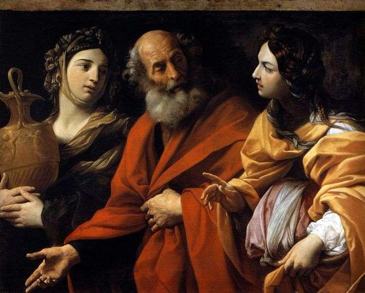 Лот и его дочери   Гвидо Рени