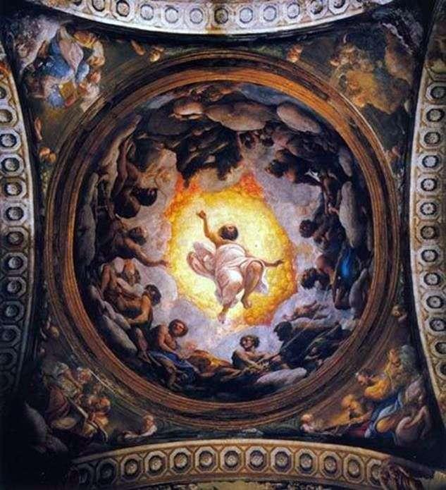 Видение Иоанна Богослова на Патмосе   Корреджо (Антонио Аллегри)