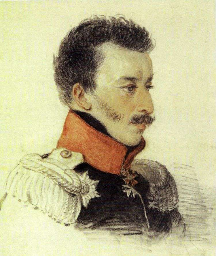 Портрет Волконского С. Г   Петр Соколов