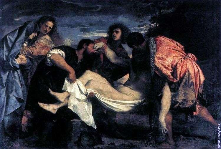 Положение во гроб   Тициан Вечеллио