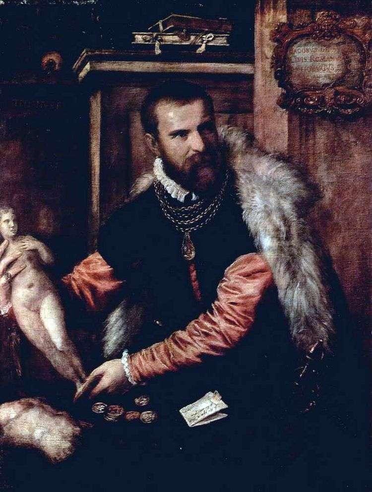 Портрет антиквара Якопо Страда   Тициан Вечеллио
