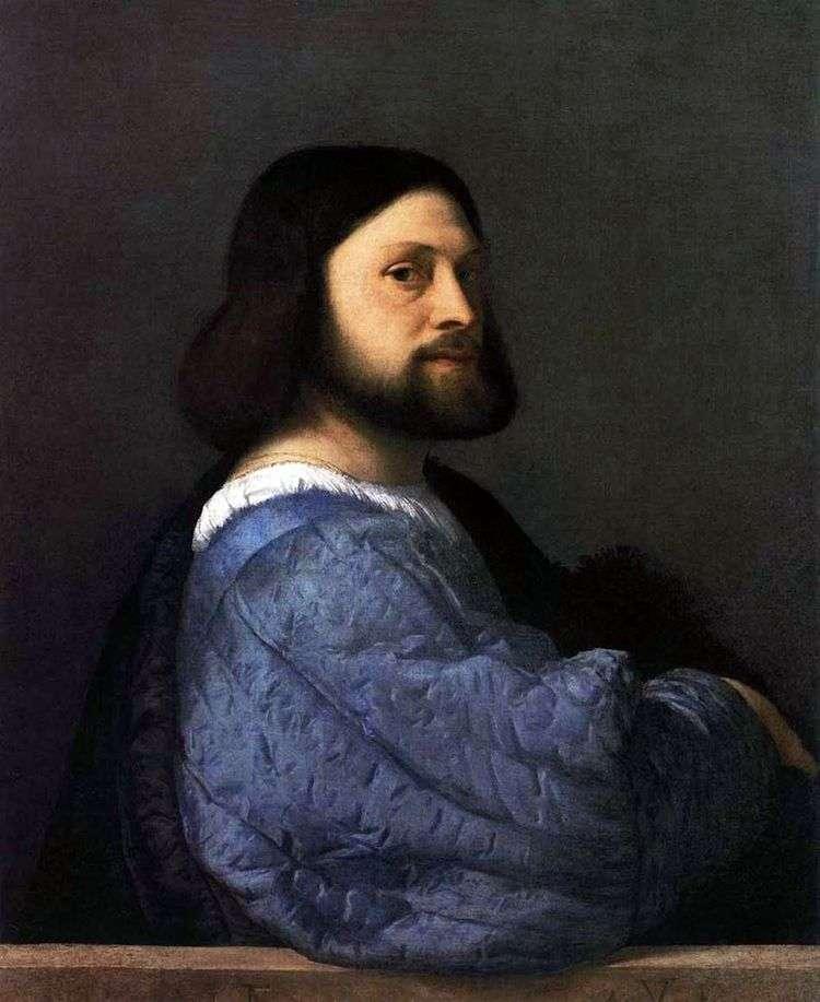 Мужской портрет (Ариосто)   Тициан Вечеллио