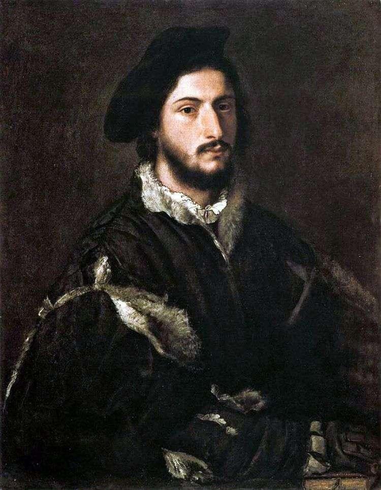 Портрет Виченцо Мости   Тициан Вечеллио