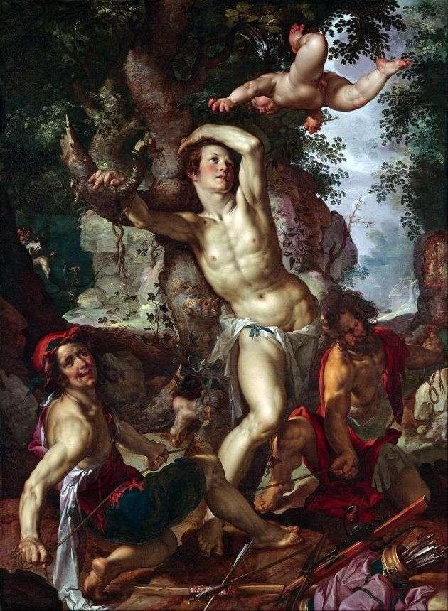 Смерть святого Себастьяна   Иоахим Эйтевал