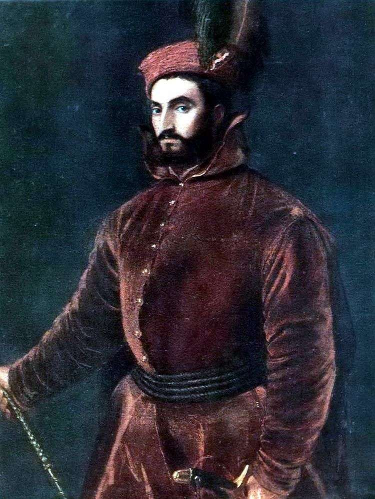 Портрет кардинала Ипполито де Медичи   Тициан Вечеллио