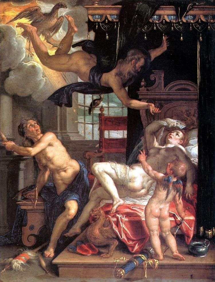 Юпитер и Даная   Иоахим Эйтевал